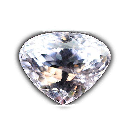 GLC Certifiled 7.08ct Natural Pear Unheated Pink Kunzite Brazil #B