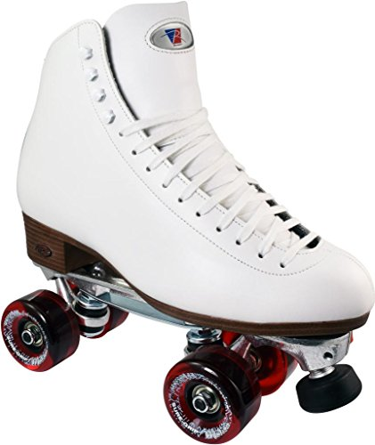 (Riedell 120 White Celebrity Plus Outdoor Roller Skates Size)