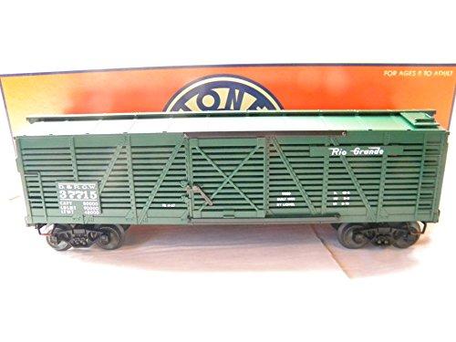 Lionel 26996 Denver & Rio Grande Western Semi-Scale Phenolic Cast Stock Car ()