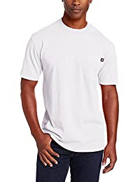 Men's Heavyweight Crew Neck Shirt, White, 4XL Tall