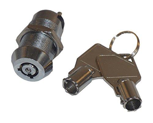 Tubular 1 1/8 Electronic Key Switch Lock