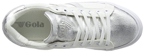 Textile Sneaker Gola White Bianco Orchid Silver Donna Wj nSqBwagB4x