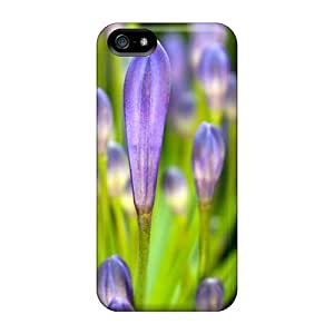 Excellent Design Crocus Buds Phone Case For Iphone 5/5s Premium Tpu Case