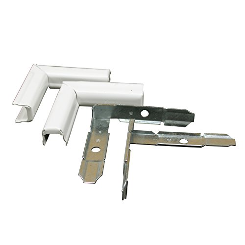 Wiremold Elbow - Legrand - Wiremold BW13-14 High Capacity Metal Twist Elbows, White