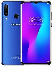 Cellulare Offerta (2019) DOOGEE N20, Octa-core 4 GB RAM 64 GB ROM, Schermo FHD + Waterdrop da 6,3 pollici,Android 9.0 4G Smartphone, 16 MP + 8 MP + 8 MP + 16 MP, 4350 mAh, 10 W Carica rapida Blu