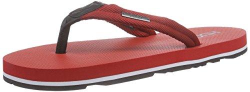 HUGO Nomman 10173545 01, Sandalias para Hombre, Rojo (Medium Red), EU