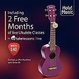 Hola! Music HM-121PP+ Deluxe Mahogany Soprano