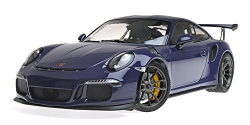 2015 Porsche 911 GT3 RS Ultra Violet Limited Edition to 1,002 pieces Worldwide 1/18 Diecast Model Car by Minichamps 155066221 -