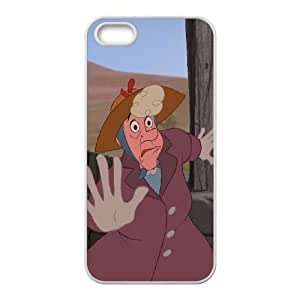 iPhone 5,5S Phone Case White Home on the Range Pearl Gesner DZW9565726