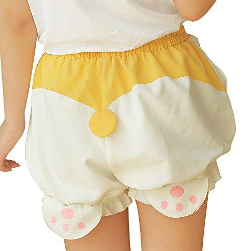 TOMORI-Cute-Bloomers-Corgi-Butt-Pants-Lolita-Pajama-Shorts-Animal-Loungewear-Sleepwear