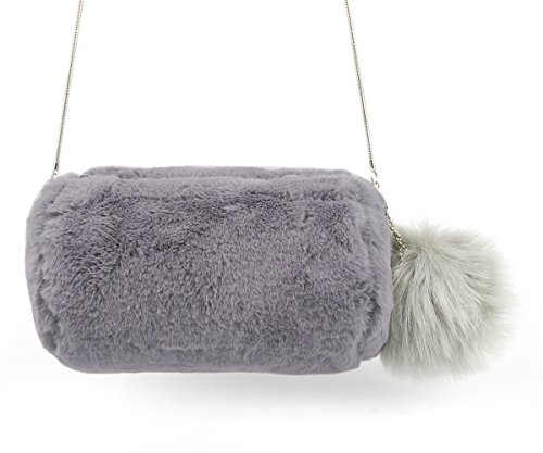 Fur Lined Shoe Bag - 8