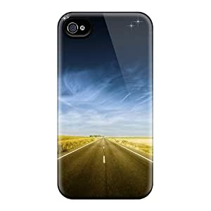 Tpu Case For Iphone 4/4s With Beyond The Horizon