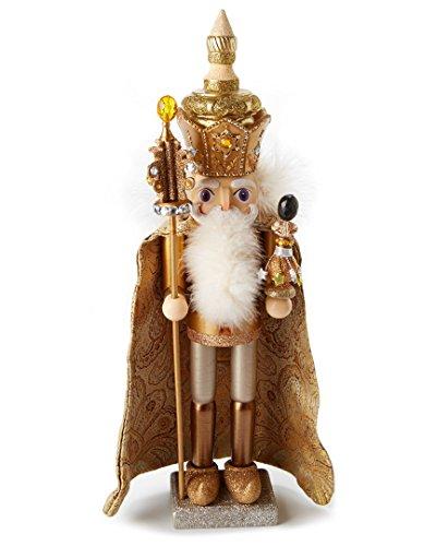 Kurt Adler 18-Inch Hollywood Gold King Nutcracker