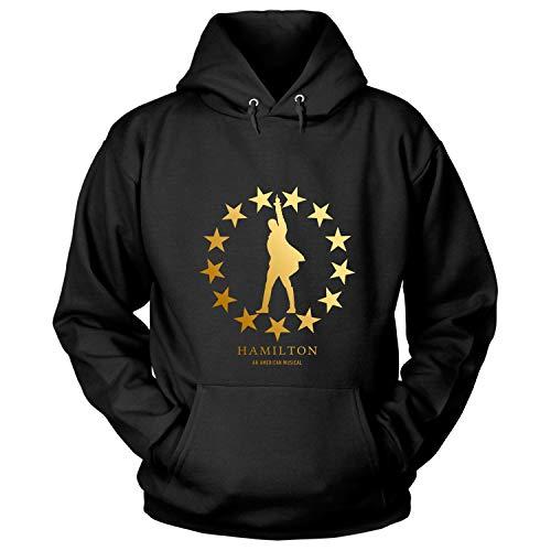 Hamilton an American Musical T Shirt - Hoodie (S, Black)