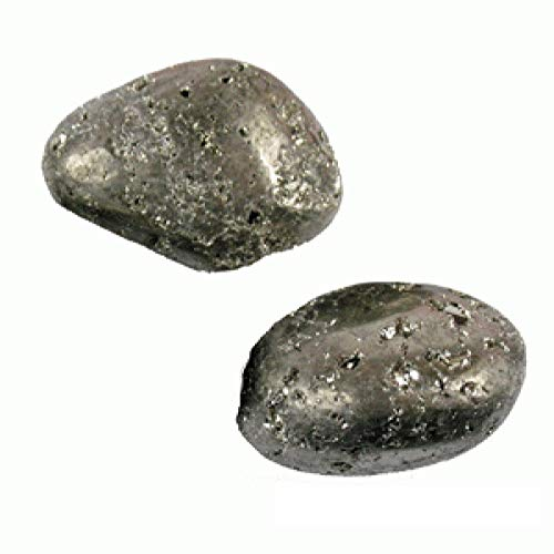 CircuitOffice 2 Piece Pyrite Tumbled Stones (About 0.75