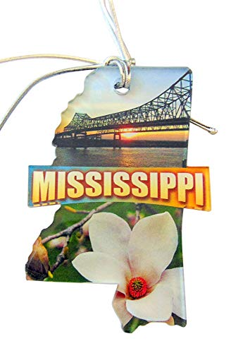 Westman Works Mississippi Christmas Ornament Acrylic State Shaped Decoration Boxed Gift Made in The USA