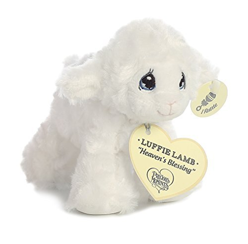 Precious Moments Luffie Lamb ''Heaven's Blessing'' Rattle (White) by Precious Moments