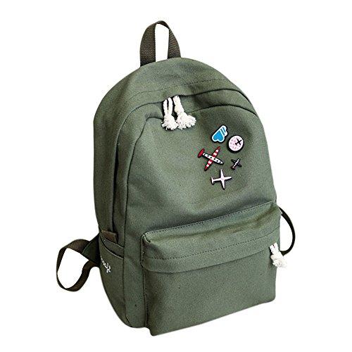 Tula Mini - Tulas Women Travel Canvas Backpacks Rucksack Student Girls Casual Shoulder Bag School Supplies (Black)
