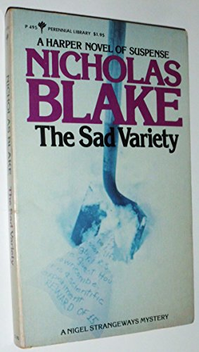 book cover of The Sad Variety