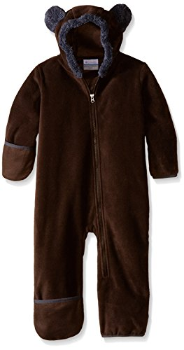 Columbia Baby Tiny Bear II Bunting, Bark, 3-6 Months