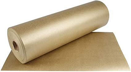 Kraft GoldChristmas Gift Wrap Supplies BULK 100m Roll of Wrapping Paper