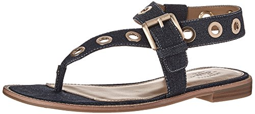 G.H. Bass & 6cG7HV5ij1 Women Macie Dress Sandal Dark Denim
