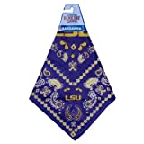 Game Day Outfitters NCAA Louisiana State Fightin Tigers Team Color Bandana