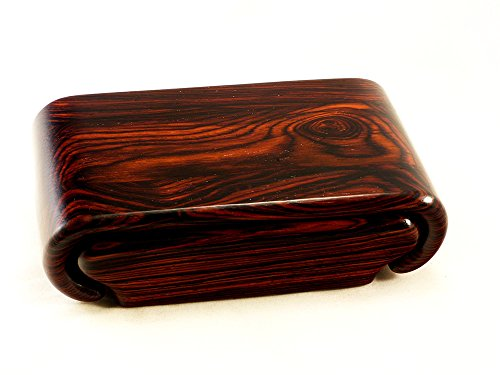 Cocobolo Rosewood Box by Wood Box Art