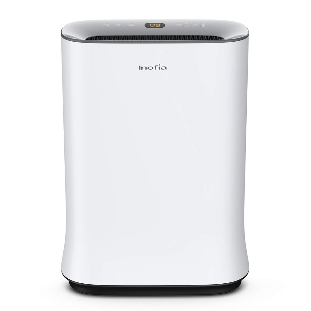 Inofia Air Purifier with True HEPA Air Filter, Air Cleaner for Large Room, for Spaces Up to 800 Sq Ft, Perfect for Home/Office with Filter - 2 Year Warrantгy