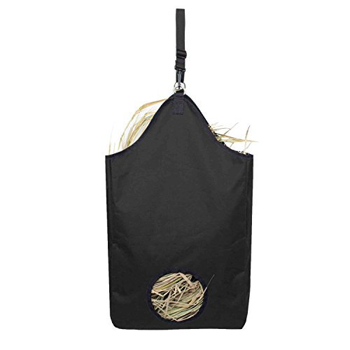 Hay Bag Tote - Huntvp Nylon Hay Tote Pouch Bag Premium,Black