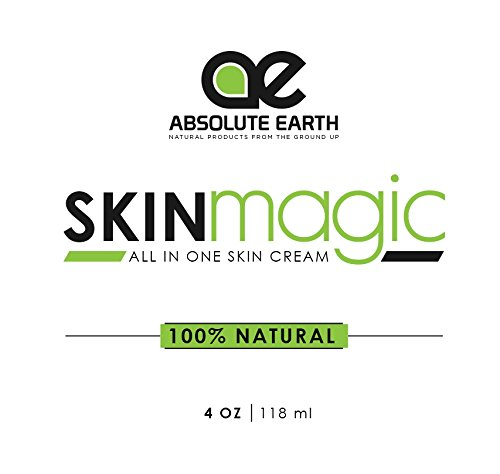 Skin-Healing-Cream-All-Natural-Skin-Magic-ECZEMA-PSORIASIS-DRY-IRRITATED-SKIN-SHINGLES-DERMATITIS-ROSACEA-RASHES-SUNBURNS-CRACKED-ITCHY-SKIN-MORE-by-Absolute-Earth-4-oz