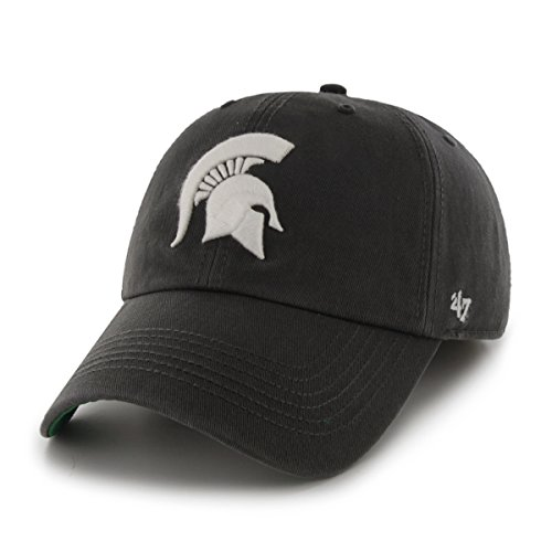 '47 NCAA Michigan State Spartans Franchise Fitted Hat, Charcoal, Large