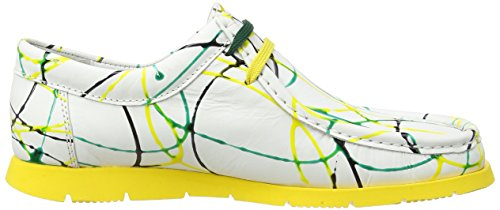 Sioux Ladies Grashopper-d-141 Bagan Mocassino Multicolore (erba-giallo)