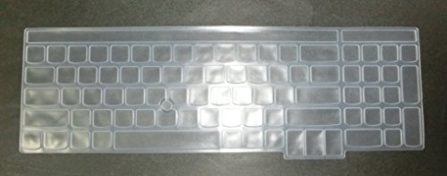 BingoBuy® Clear Ultra Thin High Quality Soft Silicone Keyboard Protector Skin Cover for LENOVO IBM ThinkPad Edge E530, E530C, E531, E535, E540, L540(if your