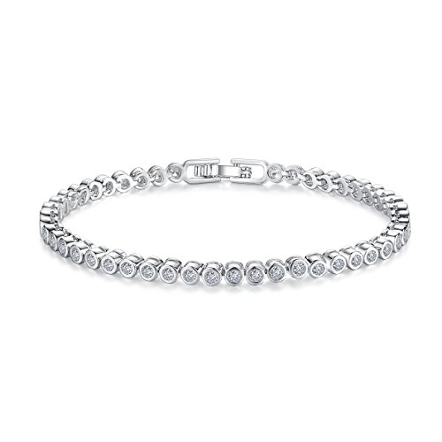 CZ Tennis Bracelets for Women - Never Hook