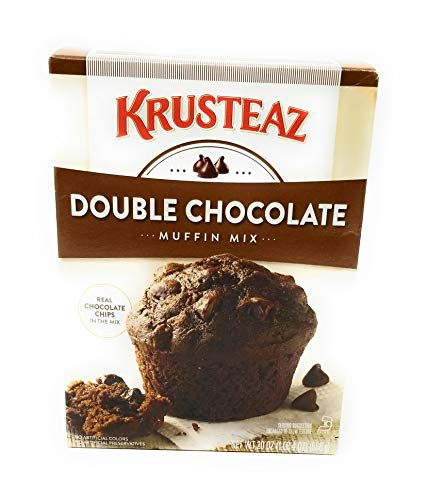 - Krusteaz Double Chocolate Supreme Muffin Mix 20 oz (Pack of 2)