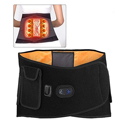 - Lumbar Support Belt, Infrared Massage Hot Compress Waist Back Pain Relieve Therapy Belt, Back Brace for Gym, Posture, Lifting, Work, Pain Relief