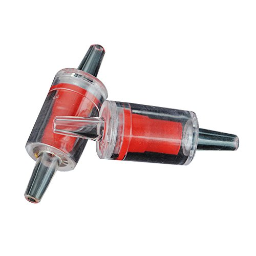 2pcs/lot Aquarium One Way Non-return Check Valve Aquarium Co2 System / Air Pump Airline Approx 45mm X 15mm X 4mm
