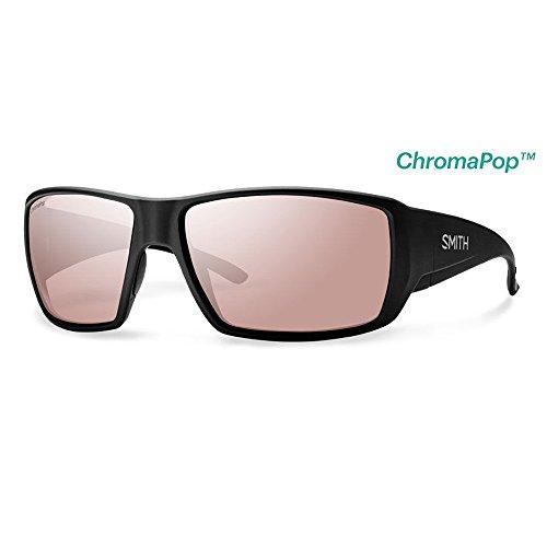 Smith Optics Guide's Choice Sunglasses(Matte Black,Polarchromic Ignitor - Sunglasses Polarchromic Smith