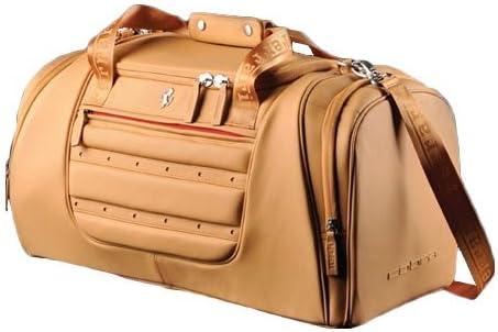 Ferrari Golf Fiorano Luxury Duffel Bag Beige Amazon Co Uk Sports Outdoors