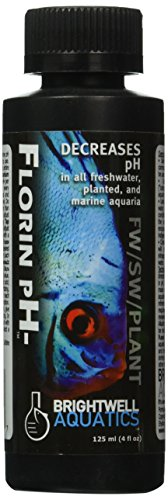 Brightwell Aquatics ABAFPM125 Florin pH Salt Water Conditioners for Aquarium, 4-Ounce
