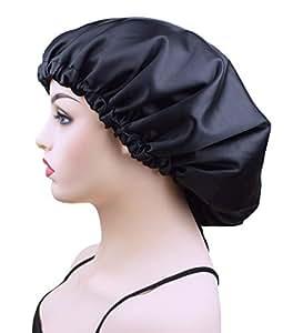 Amazon.com   Sleep Bonnet Cap for Women a8fb53f96af