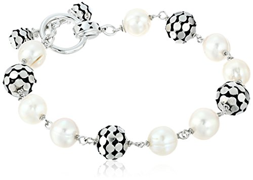 Honora Times Square White Freshwater Cultured Pearl 7.5