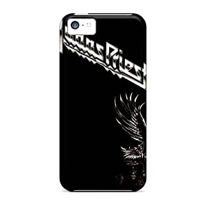 TinaMacKenzie Scratch-free Phone Cases For Iphone 5c- Retail Packaging - Judas Priest