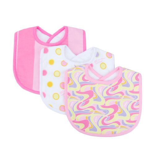 trend-lab-dr-seuss-3-piece-bibs-oh-the-places-youll-go-pink