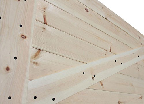 Tms 36 X 84 Solid Core Unfinished Plank Knotty Pine Barn Wood