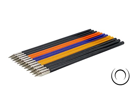 EMIYA Plastic Bolt Arrows for 50LB to 80LB Crossbow Pistols 12 Pack