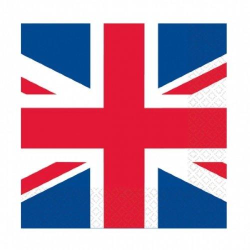Amscan PPP 33 cm Great Britan Flag Lunch Napkin Amscan International 993898