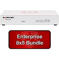 Fortinet FortiGate-60E / FG-60E Next Gen Firewall (NGFW) Security Appliance Bundle w/1 Yr 8x5 Enterprise FortiCare + FortiGuard