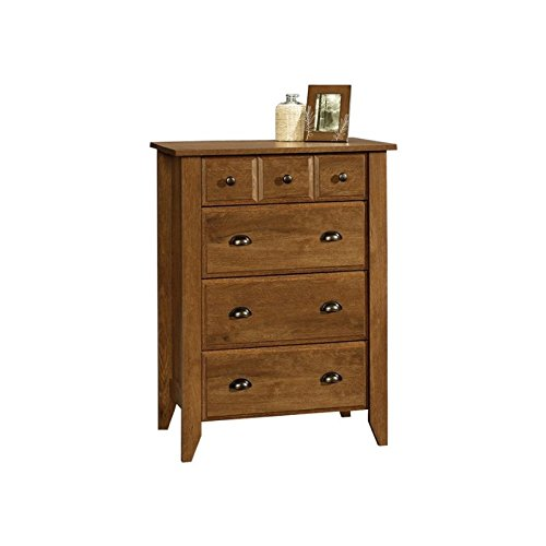 Sauder Shoal Creek 4-Drawer Chest, Oiled Oak finish